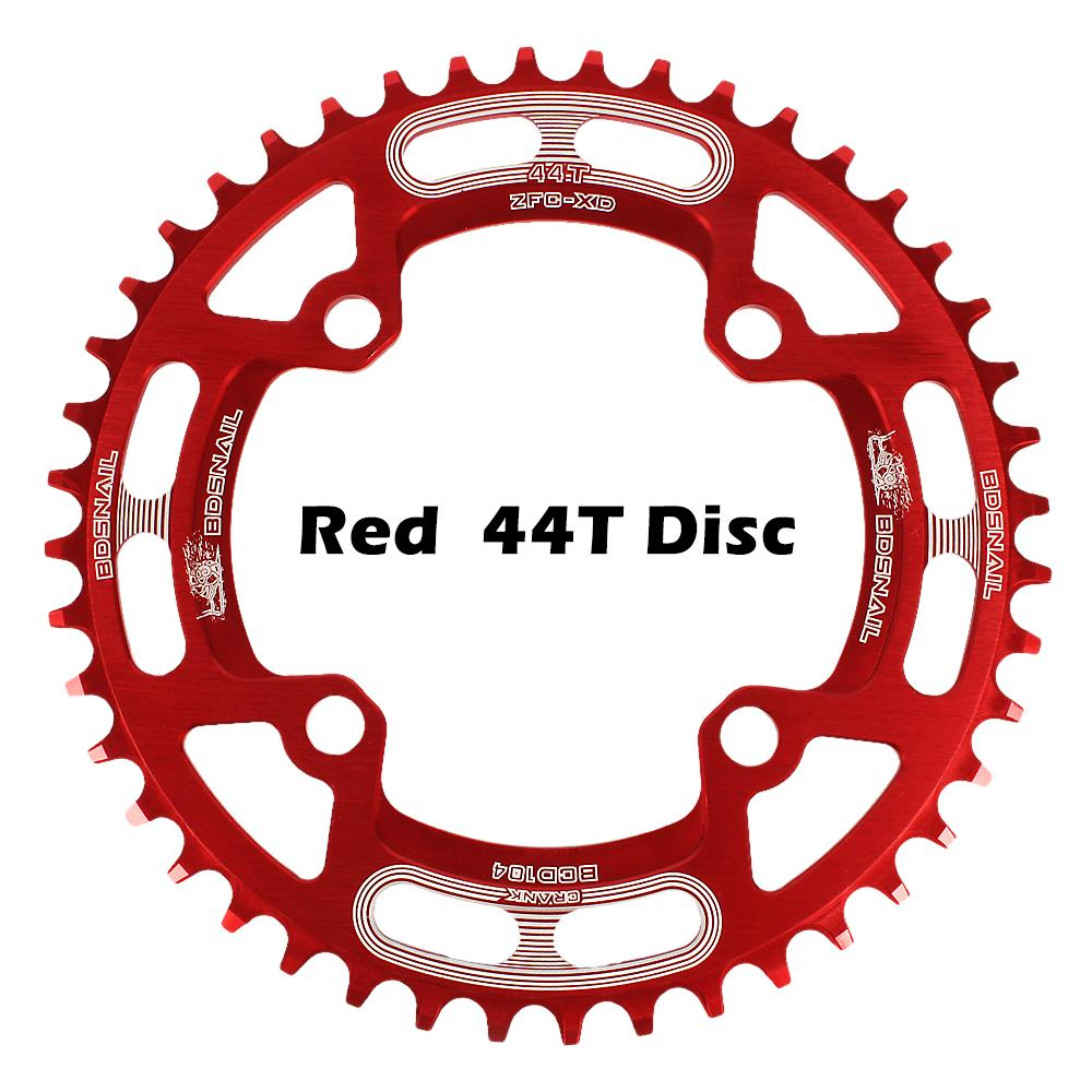 DECKAS 40-52T Narrow Wide Round MTB Bike Chainring 104mmBCD Cycling Chainset