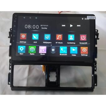 """10"""" Panel + Dual Din Monitor for Toyota Vios"""