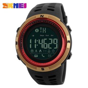 [100% Genuine]2017 NEW Men's Smart Sport Watch New SKMEI BrandBluetooth Calorie Pedometer Fashion Watches Men 50M WaterproofDigital Clock Wristwatch 1250 - intl - 3