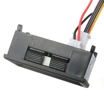 100V 100A DC Car Auto Digital Voltmeter Ammeter LED Amp Volt Meter 12V w/shunt - 5
