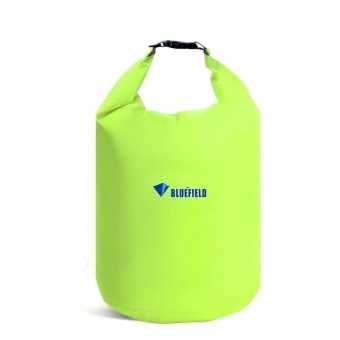 10L Outdoor Polyester Cloth Trekking River Drifting Waterproof Bag Ultralight Swimming Bag (Fluorescent Green) - intl