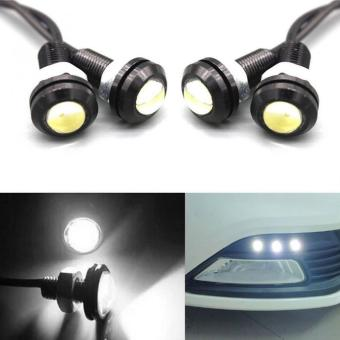 10pcs 9W LED Eagle Eye Car Fog DRL Daytime Reverse Backup Parking Signal Light