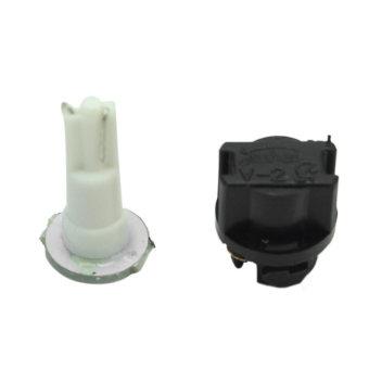 10Pcs Auto Car T5 0.2W 1 LED Light Instrument Panel Dashboard Lamp Bulb DC 12V - intl - 4