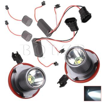 10W LED Angel Eyes Light Set of 2 Black