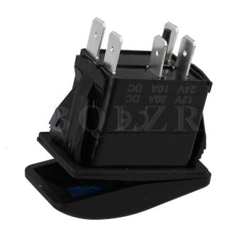 12V 12A Car Boat ARB Waterproof Dual Rocker Switch - picture 2