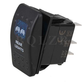 12V/24V Rocker Switch SPST On-Off
