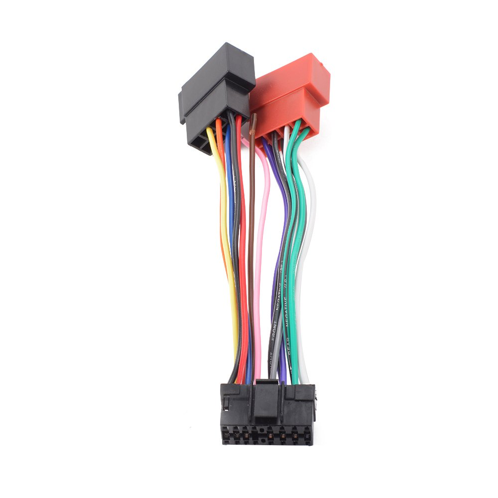 Sony Car Stereo Wiring Harness Adapter Solutions Cdx Gt620ip Carstereo Radio Ma716 Philippines 16 Pin Iso Connector Adaptor Loom For