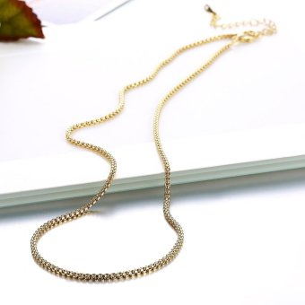 18k Gold Plated Long Chain Necklace - intl - 3