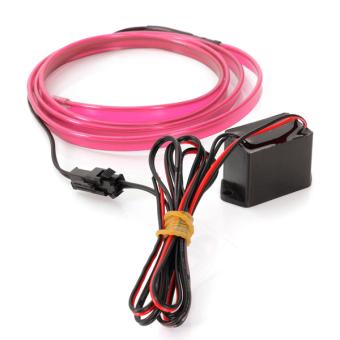 1M Auto1m EL Wire 12V PINK