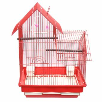 2 Layer Bird Cage (Camella) - 47 x 38 x 42cm Red Price Philippines