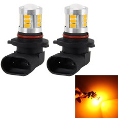 2 PCS 9005 4W 250 LM 6000K Car Fog Lights with 18 LEDs SMD-5630