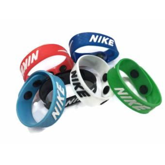 2 pcs. Sports Silicone Bracelets Pro Adjustable Bracelets Baller Bands 20g - 4