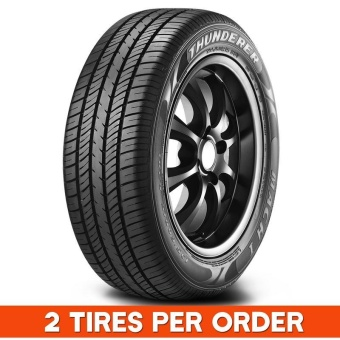 2 pieces Quality Tires Thunderer 165/65R13 77T (Thailand)