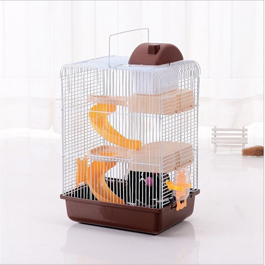 2016 hot sell pet gaiola multi storey castle hamster cagetravelcarry novice practical cage hamster accessories - Multi Castle 2016