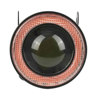 2pcs 2.5'' Fog Light With Red COB Angel Halo Eye Ring For Car SUVTruck - intl - 3