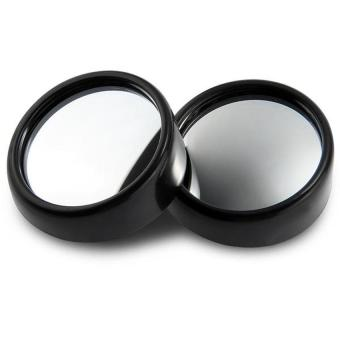 2pcs Blind Spot Rear View Rearview Mirror for Car Truck (Black)