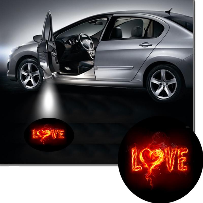 2Pcs Car Door Projector Welcome Lights No Drilling Required Intl 84 Lazada PH .