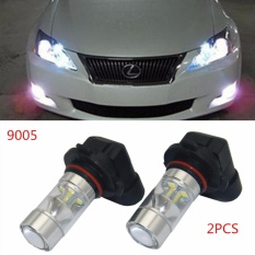 PHP 765 2pcs New Car LED Fog Lamps 60W 9005 HB3 Auto Foglight DRL Headlight Daytime Running Light Lamp ...