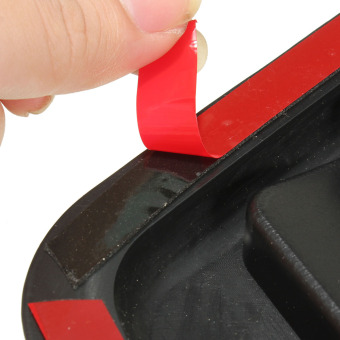 2x Car Decorative Air Flow Intake Hood Vent Bonnet Fender Grill Universal OB0522 Black - 5