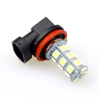 2x H11 H8 18 LED 5050 SMD Car Day Fog Head light Lamp Bulb Xenon White - intl - 5
