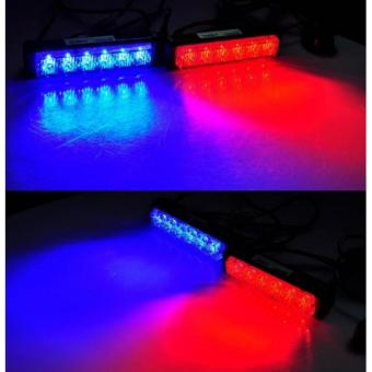 Price list new 2x6 federal light bar strobe blinker redblue check 2x6 federal light bar strobe blinkerredblue 2 aloadofball Image collections