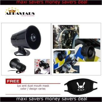 3 Tone Wang Wang Loud Security Siren Horn Warning Alarm UniversalCompatible for Motorcycle Car Scooter Fits All Yamaha Model