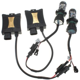 3000k 1 Set Xenon HID Conversion Kit H4 55W DC12V Dual Beam Headlight - intl - 3