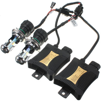 3000k 1 Set Xenon HID Conversion Kit H4 55W DC12V Dual Beam Headlight - intl - 4