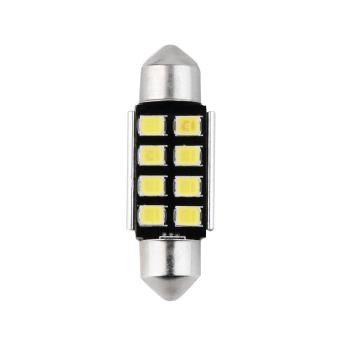 36mm White 8-LED Auto Car Interior Festoon Dome Map Light Lamp Bulb