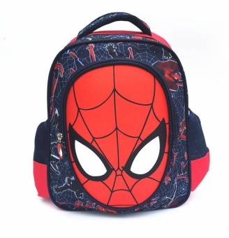 '3D Boy''s Canvas School Bag Kids Backpacks(Color:Main Pic) - intl'