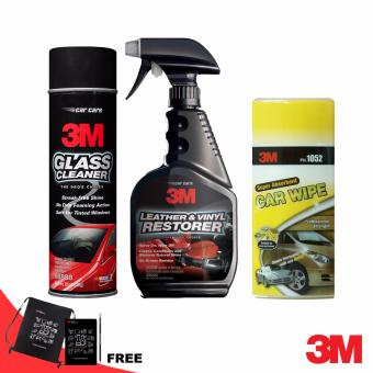 3M Auto Inside Car Care Kit w/ Free Note Kit Price Philippines