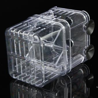 4 in1 Aquarium Fish Fry Breeding Hatchery Incubator Isolation Box Tank Shrimp Small - intl - 5