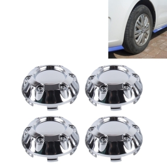 4 PCS Metal Car Styling Accessories Car Emblem Badge Sticker Wheel Hub Caps Centre Cover - intl