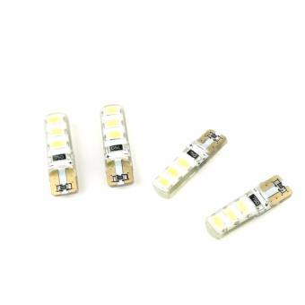 4pcs T10 White 5630-6 SMD LED Park light / Room Light / Plate Light - 3