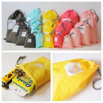 4pcs Waterproof Travel Beam Port Storage Bag Laundry OrganizerXHH8046-1 - intl - 3