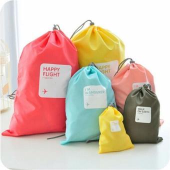 4pcs Waterproof Travel Beam Port Storage Bag Laundry OrganizerXHH8046-1 - intl - 2