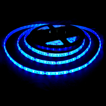 5 Meters Blue LED Strip lights with Adaptor - 3