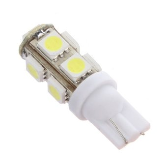 6 X 9 T10 501 W5W 9 LED SMD Light Car Bulbs - picture 2