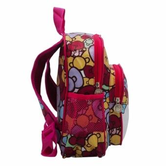6007 HK Backpack for Kids (Rose Pink)#0126 - 2