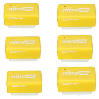 6PCS Plug and Drive NitroOBD2 Performance Chip Tuning Box forBenzine Cars Nitro OBD2 Price Philippines