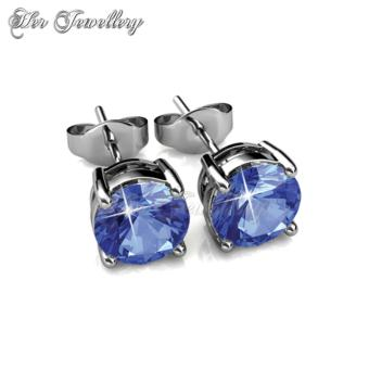 7 Days Earrings Set - Crystals from Swarovski - 2