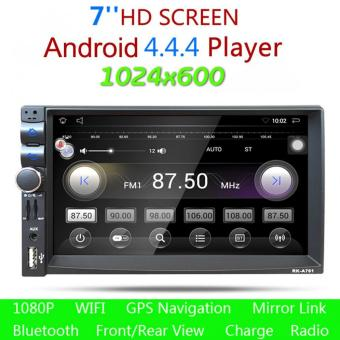 7 Inch 16G Rom 1G RAM Double 2Din HD Car Stereo Android GPS MP3 Player - intl