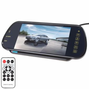 7 Inch TFT Color LCD Bluetooth MP5 Car Rearview Mirror Monitor