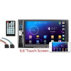 7653TM 6.6 INCH 2Din Bluetooth Touchscreen Car Mp5 Player Stereo Radio Fm Usb