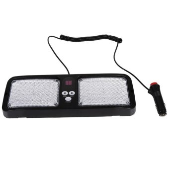 86LED Emergency Beacon Vehicle Car Truck Sun Visor Strobe FlashLight Lamp 12V(Red and Blue) - intl