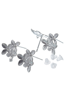 8YEARS B11411 Earring Post Set of 10 (Silver)