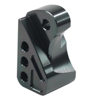 A027 Moto Brake Clamp w/4 Holes (Black)