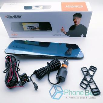 A30 4.3 inch Dual Lens Car DVR Rear-view Mirror Full HD 1080PVehicle Traveling Data Recorder