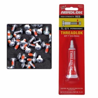 "Abro High Strength Red Permanent Tthreadlock 3/8\""-1\"" 02.fl.oz"
