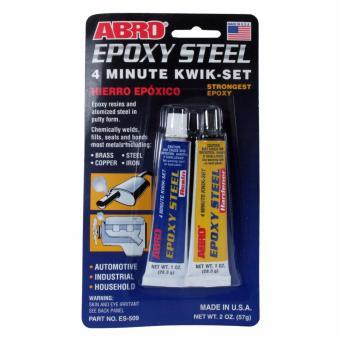 Abro Steel Adhesive 2 oz.(57g.) (2 pcs/cd)